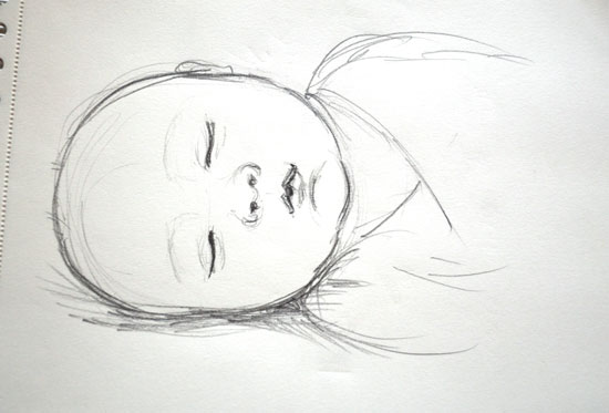 Baby drawing for Baby drawing easy