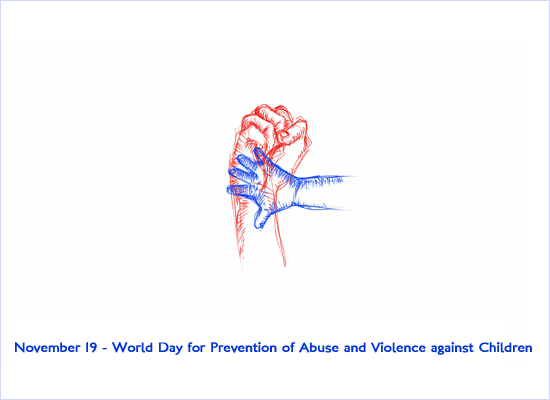 November 19 - World Day for Prevention of Abuse and Violence against Children